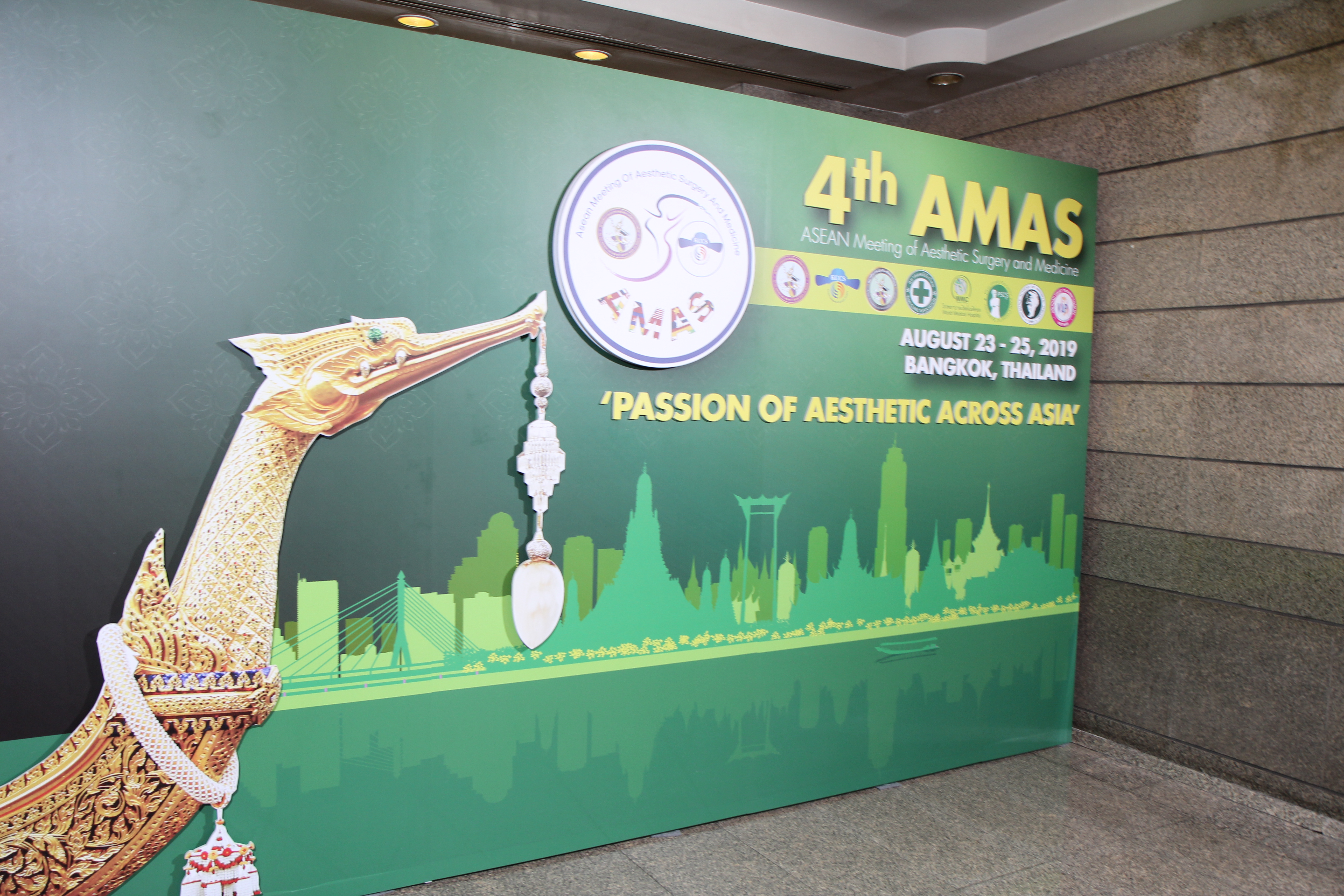 4th ASEAN Meeting of Aesthetic Surgery and Medicine 2019 (AMAS 2019)