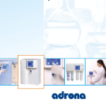 Adrona Laboratory Water Purification Systems