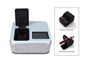 เครื่องวัดการดูดกลืนแสงปริมาตรระดับไมโครลิตร (Microvolume spectrophotometer)