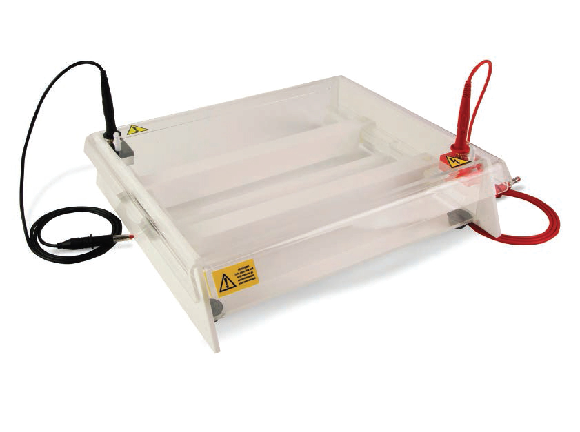 HORIZONTAL UNIT FOR CELLULOSE ACETATE ELECTROPHORESIS