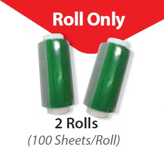 SEAL PLATE FILM ROLLS ONLY, 100 SHEETS/ROLL, 2 ROLLS/PK, NON-STERILE