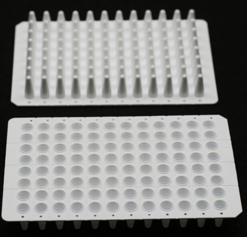 0.1 ML., 96-WELL qPCR PLATES, UNSKIRTED, WHITE, 15 PCS/BOX