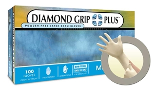 DIAMOND GRIP PLUS INTERNATIONAL, SIZE M, 100/BOX