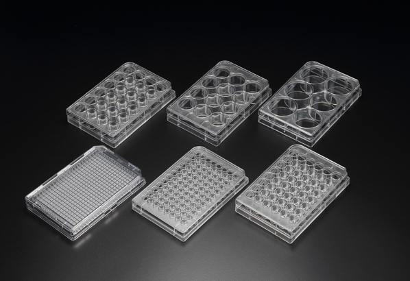 96 WELL CELL CULTURE PLATE, F-TYPE, 50/CASE