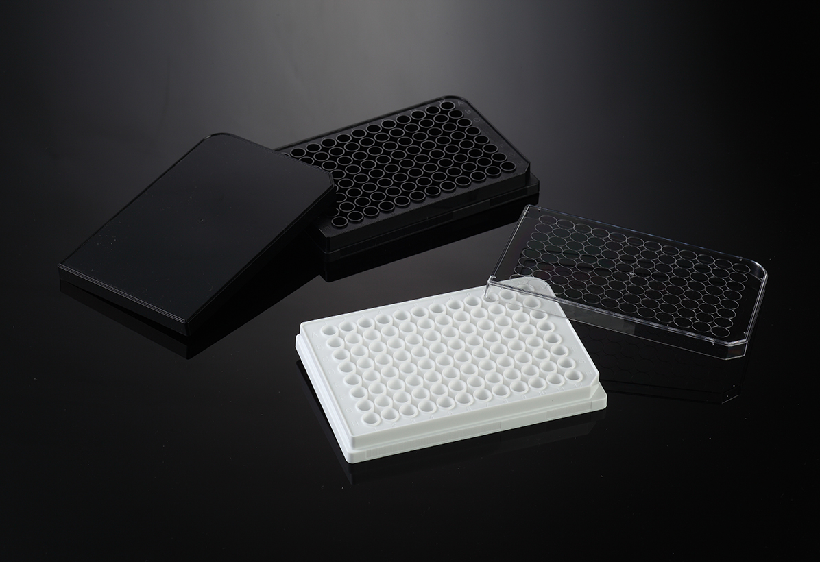 96 WELL MICROPLATE, WHITE, NON-STERILE, 100/CASE