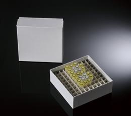 CARDBOARD FREEZER BOX, 2 INCH, 100 WELLS