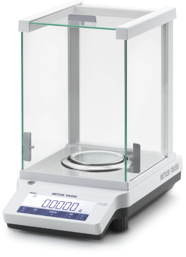 ME204E ANALYTICAL BALANCE 220Gx0.1 MG. (EXTERNAL CAL.)