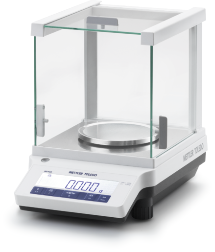 ME103E ANALYTICAL BALANCE 120Gx0.1 MG. (EXTERNAL CAL.)