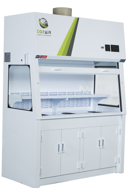 POLYPROPYLENE DUCTLESS FUME HOOD SPECIAL PP WORKSHOP THAT CAN BE REMOVED EASILY
