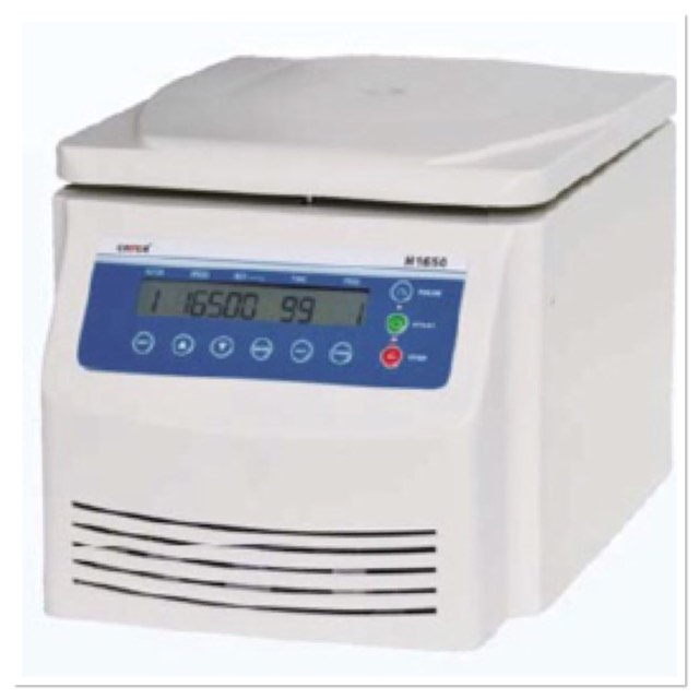 H1650 TABLE TOP HIGH SPEED CENTRIFUGE WITH ROTOR 805000