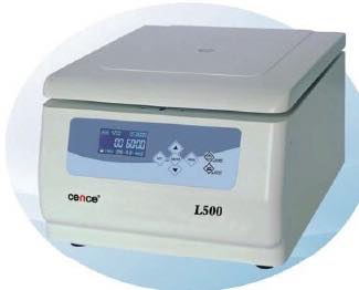 L500 LOW SPEED CENTRIFUGE COMPLETED WITH ACCESSORIES