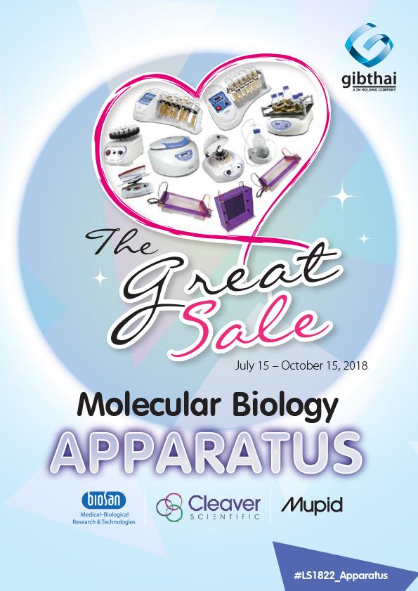 The Great Sale: Molecular Biology Apparatus