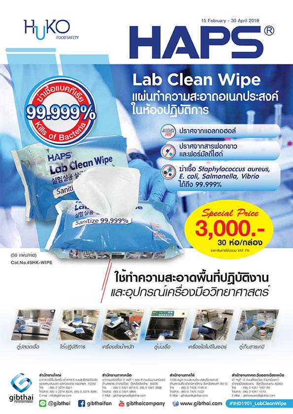 Lab Clean Wipe