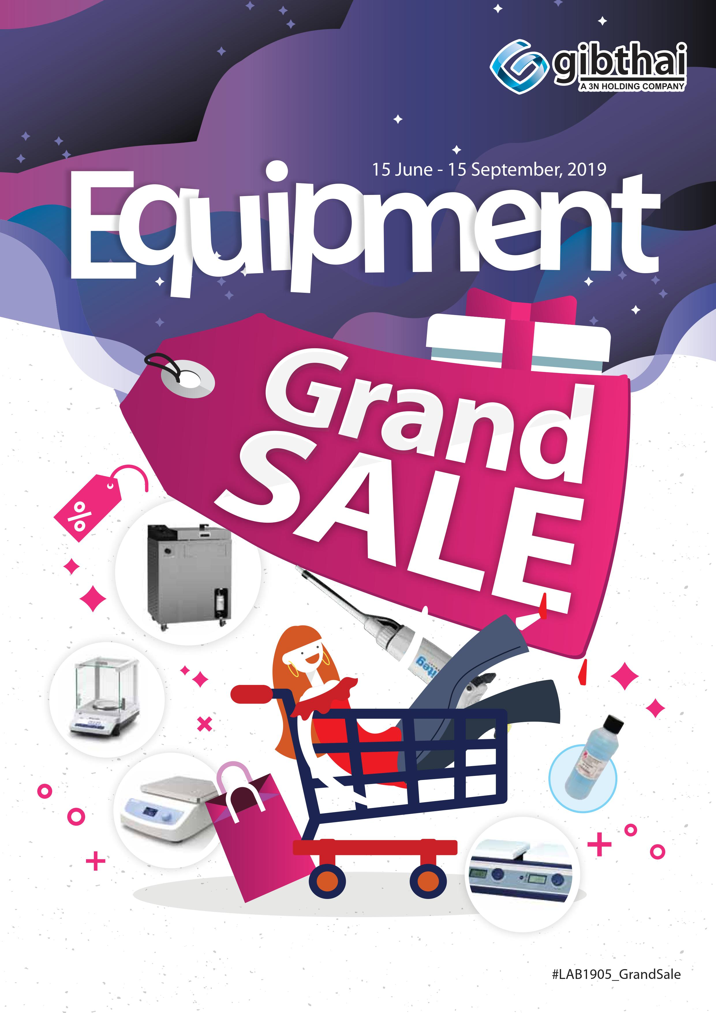 Equipment Grand Sale