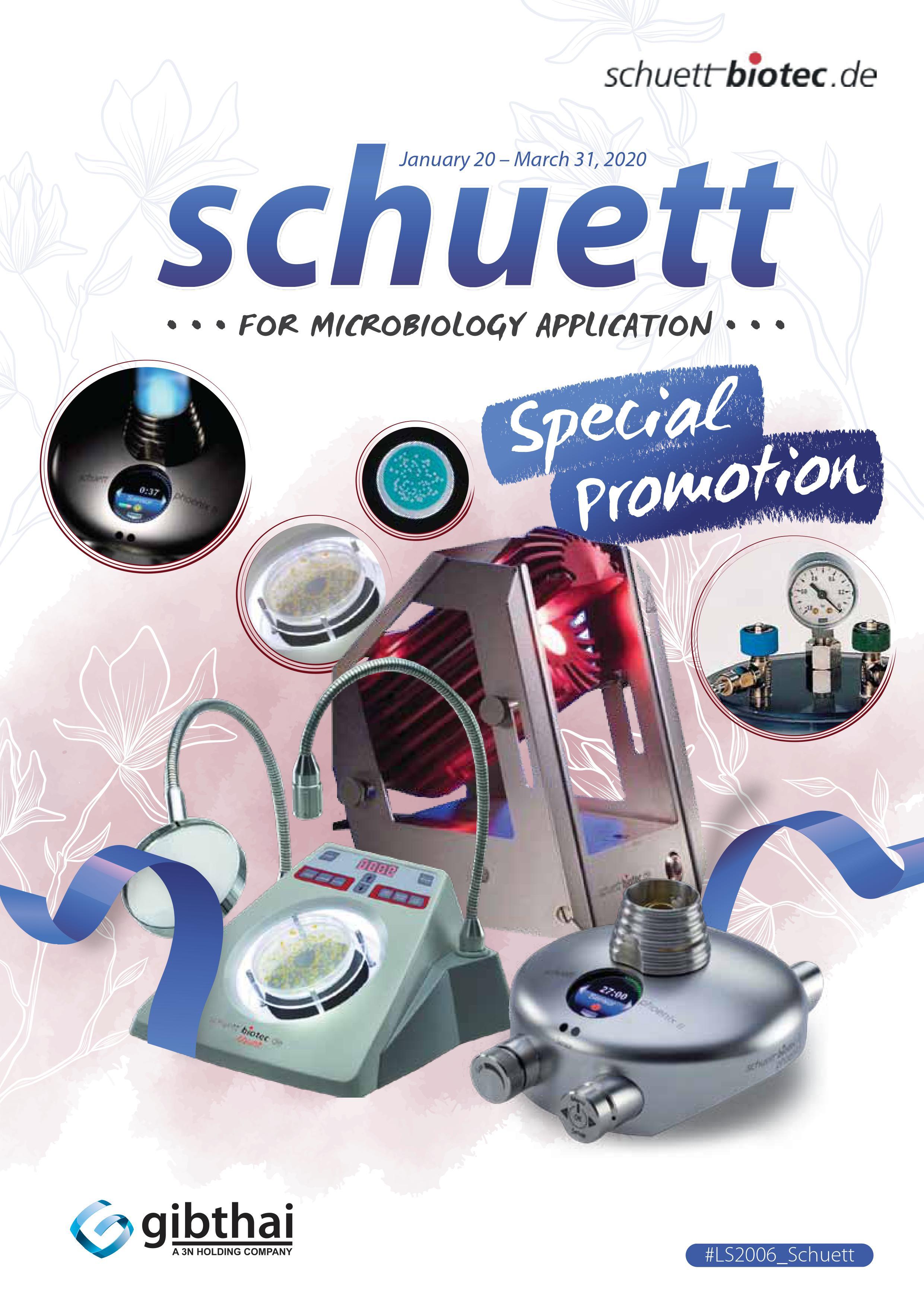 Schuett Special Promotion
