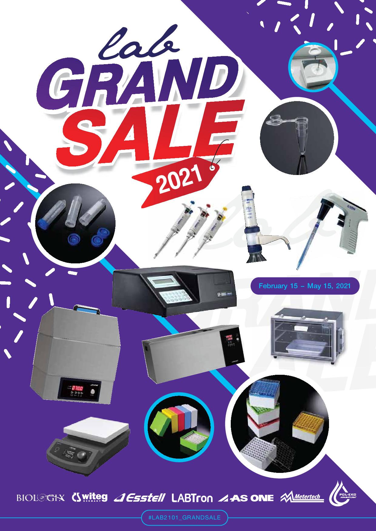 Lab Grand Sale
