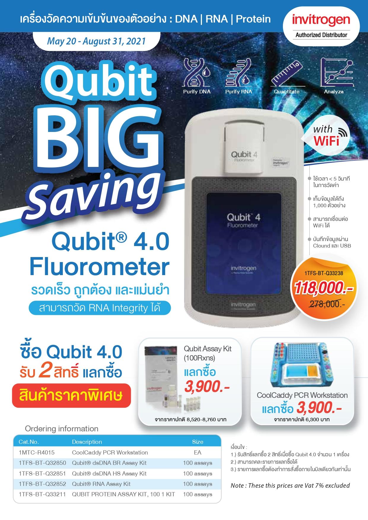 Qubit Big Saving