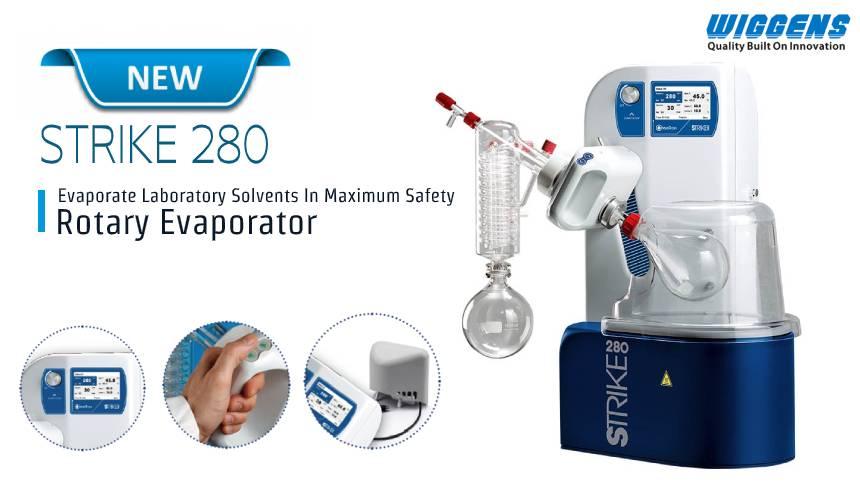 STRIKE-280(NEW)- เครื่องกลั่นระเหยสารแบบหมุน (Rotary Evaporator)