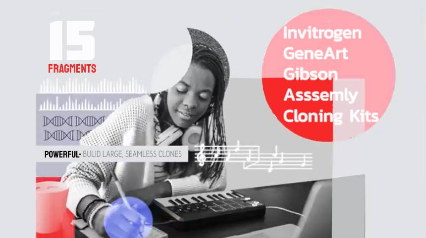 GeneArt Gibson Assembly® Cloning